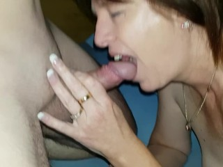 Shake young studs hand before he fucks my horny wife