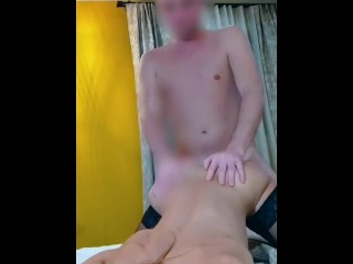 Blowjob on big cock, pussy lick, doggystyle selfie and orgasm with big cumshot