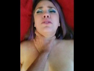 Quickie with Horny Nicky Facial Ending