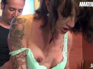 La Cochonne - French Mature Gets Deep Dicked In Her Asshole - AmateurEuro