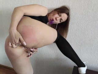 Today I really want anal and sperm in my mouth. Part 1