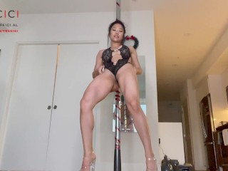 Only Fans and Instagram Asian Babe Trucici Twerks, Strips and drips
