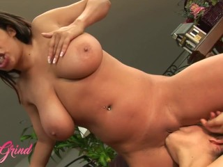 Girl Grind - Stunning Lesbian Babes Alexis Silver, Austin Kincaid, And Paola Rey Have A Super Hot Th