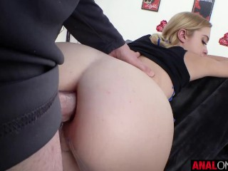 ANAL ONLY Chloe Cherry is a naughty anal fuckdoll