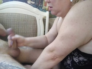 homemade blowjob from mature mother-in-law