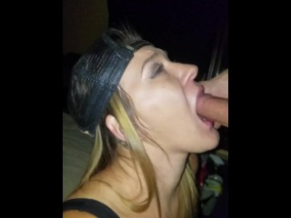 Hot Lesbian Gives Her First BJ and Loves It