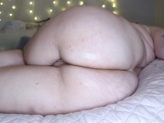 Stuffing My Ass With Pretty Pink Anal Beads