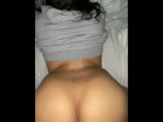 Step sis let's me fuck & nut in her