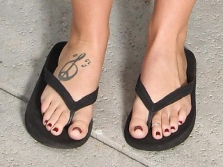 ALISON TYLER {FEET-TRIBUTE} {CLOSE-UP's} {COMPILATION} {HD}