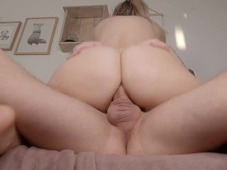 Danish petite fitness girl gets her tight asshole drilled and filled with cum - Amateur couple