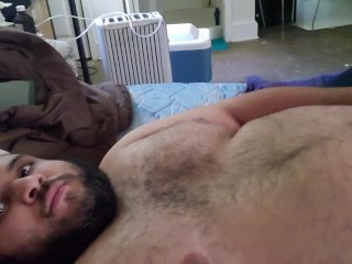 Fat-arab full bod with dick play
