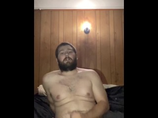 Licking my dick n jerkin off with a toy in my ass.