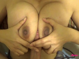 Tittyfuck cumshot compilation - Huge loads on perfect Asian tits