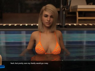HRC:Chilling By The Pool, With Two Hot Girls-Ep21