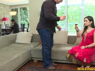 Man gets his Indian whore wife tohis Boss to get job promotion