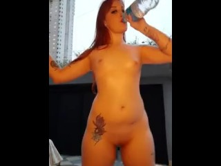 Reahead Mel Fire strips on cam show sexy girl