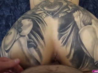 BIG TIT Thick BIG ASS Milf Step MOM Quick Fuck & Cum on Her Face Before Dinner - Melody Radford