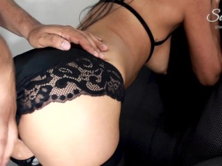 Your Wife Begging for a Pay Rise in Overtime AGAIN !! (Amateur Latina Ass to Mouth)