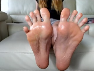 best oil tease evere made - Tori's feet soles and toes trailer