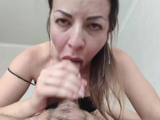 When I got to his cock, I could not stop until I sucked all the sperm