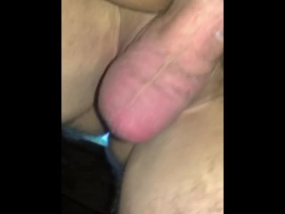 Milf takes big cock extreme close up