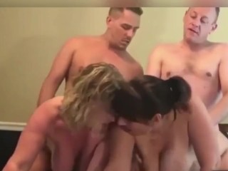 SWINGER & HOTWIFE, COUPLES & SINGLES, SWAPPING & SHARING, SEX HOOKUP - FOURSOME FUCK