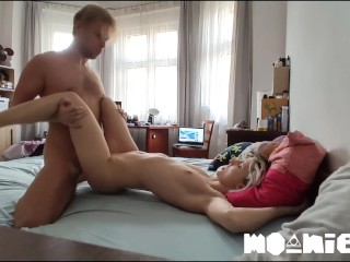 Stay at Home Make Missionary Love and Come from Behind on Hidden Cam