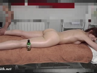 What the real massage looks like. Hidden camera