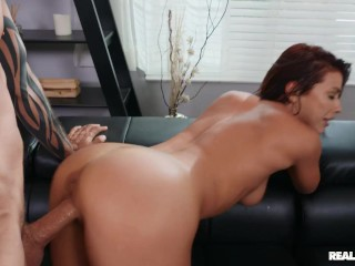 Reality Kings - Adriana gets propositioned by a complete stranger - why not put that smiling mouth t