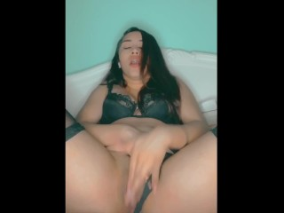 Hot Horny Cheerleader Playing With Herself ASMR