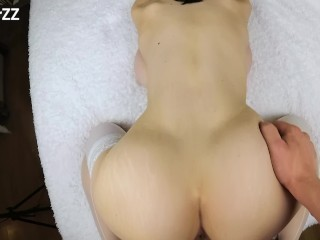 FUCKED BIG TITS GIRLFRIEND IN WET PUSSY AND TIGHT ASS -reverse cowgirl