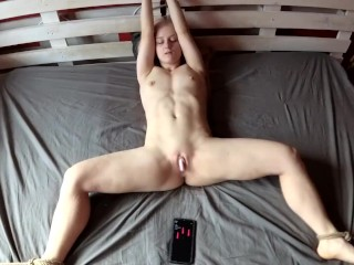 Playing with my favorite remote vibrator