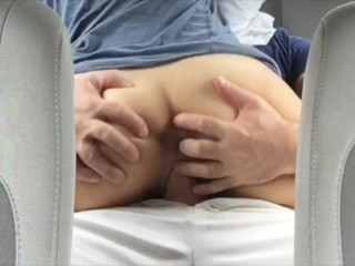Car Sex, I Suck His Cock While He Drives, He Decides To Park And Fuck Me