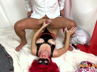 Hot Wife Fucking Guy with Strapon (PEGGING FEMDOM) Dirty Lady