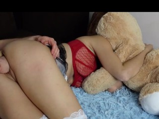hard pussy fisting anal fist loud orgasm amateur couple