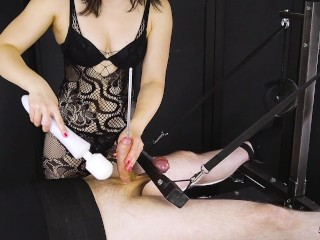 Deep Urethral Sounding with Cock and Balls Edging Game | Era