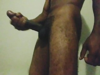 Long Black Dick. Busted A Fat Nut.
