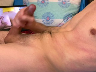 Hot Guy Moaning While Watching Porn And Dirty Talking Until Intense Orgasm - 4K