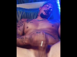 Wife caught me jacking off so she recorded me