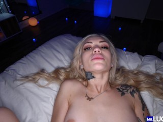 Stunning Petite Alex Grey gets her tight Pussy Fucked in POV