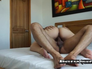 Big Ass Blonde Rides my Cock and Makes me Cum Inside her Pussy