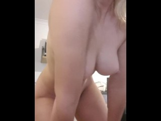 TANNED AUSSIE BLONDE DANCES FOR YOU PT2