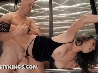 Reality Kings - Big tit Autumn Fall is a sneaky cheat
