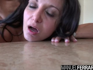 Manuel Ferrara - Ava Addams Shows Off Her Brand New Huge Set
