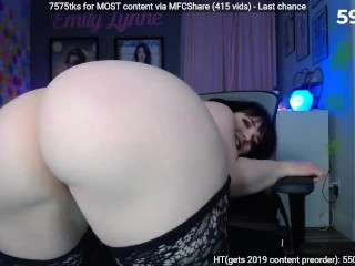 PERFECT HUGE PAWG! (Emily Lynne) part 2