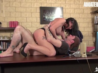 LaCochonne - Mya Lorenn Big Booty French MILF Fucked Hard In Her Ass And Pussy - AMATEUREURO
