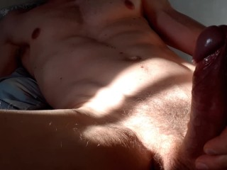 Solo Male Masturbation - Aching for release