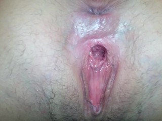 My wife's BIG gaping pussy hole