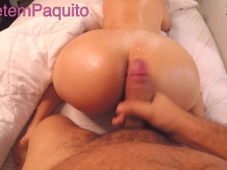 POV with a Big ASS Latina Riding hardcore and Doggystyle FUCK