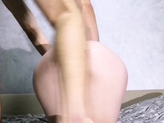 Rough Doggystyle Fucked in Big Tight Ass Multiple Ass Cumshot